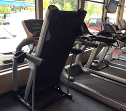 Used Vision Fitness TF20 Classic Folding Treadmill