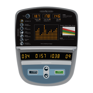 Vision Fitness 70 Series Console
