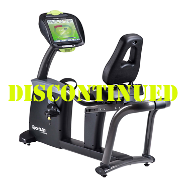 SportsArt C575R-16 Club Recumbent Bike with SENZA™