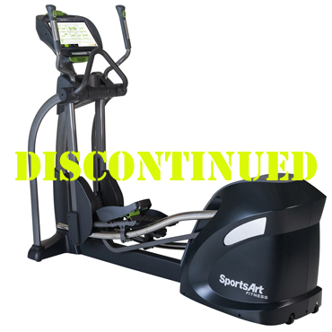 SportsArt E875-16 Club Elliptical with SENZA™