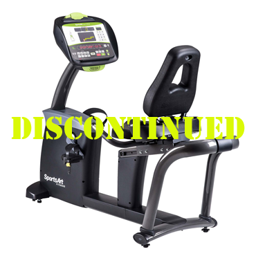 SportsArt G575R Club Recumbent Bike with ECO-POWR™