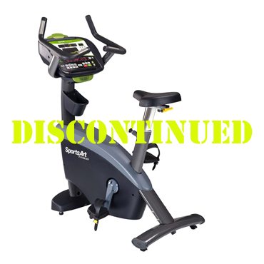 SportsArt G575U Club Upright Bike with ECO-POWR™