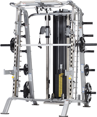 TuffStuff CSM-725WS Smith Machine Ensemble with Functional Trainer